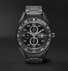 TAG Heuer Connected Modular 41mm PVD-Coated Titanium Smart Watch