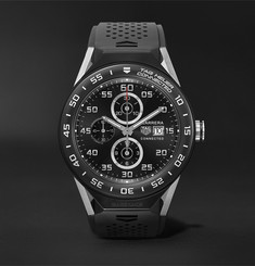 TAG Heuer Connected Modular 45mm Titanium and Rubber Smart Watch