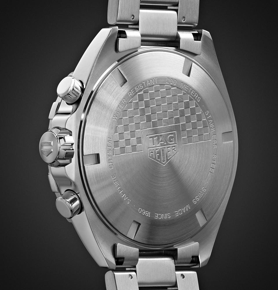 TAG Heuer Formula 1 Quartz Chronograph 43mm Stainless Steel Watch