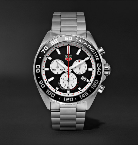 TAG Heuer Formula 1 Quartz Chronograph 43mm Stainless Steel Watch, Ref. No. CAZ101E.BA0842