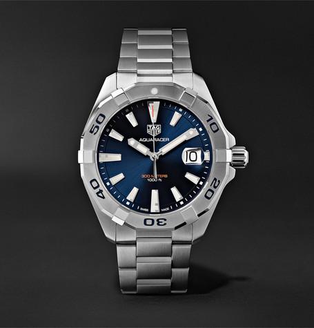 f42c6d645d8 TAG Heuer - Aquaracer Quartz 41mm Steel Watch