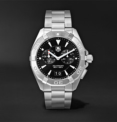 TAG Heuer - Aquaracer Alarm Quartz 40.5mm Steel Watch