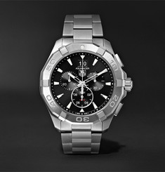TAG Heuer Aquaracer Chronograph Quartz 43mm Steel Watch