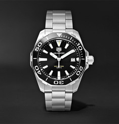 TAG Heuer Aquaracer Quartz 41mm Steel Watch, Ref. No. WAY111A.BA0928