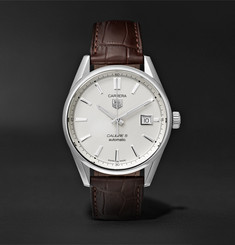 TAG Heuer - Carrera Automatic 39mm Steel and Alligator Watch