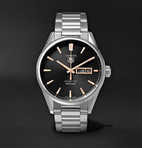 Carrera Automatic 41mm Steel Watch
