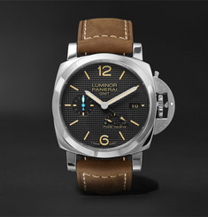 Officine Panerai Luminor 1950 3 Days Acciaio 42mm Stainless Steel and Leather Watch