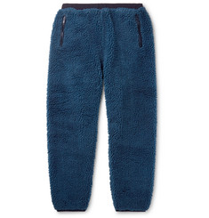Beams Wide-Leg Fleece Sweatpants