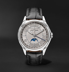 Vacheron Constantin Traditionnelle Automatic Complete Calendar 40mm Stainless Steel and Alligator Watch, Ref. No. 4000E/
