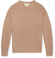 Remi Relief - Distressed Mélange Cashmere Sweater