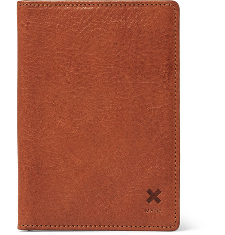 BEST MADE COMPANY Full-Grain Leather Bifold Cardholder in Tan