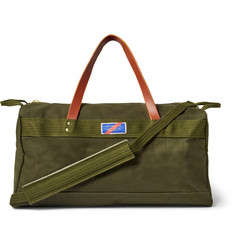 Best Made Company Leather-Trimmed Canvas Holdall