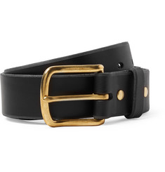 Best Made Company 4cm Black Standard Leather Belt
