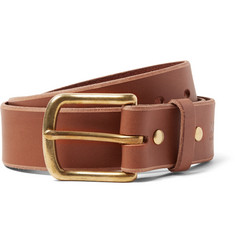Best Made Company 4cm Brown Standard Leather Belt