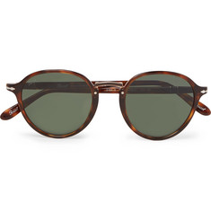 Persol - Round-Frame Tortoiseshell Acetate and Gold-Tone Sunglasses