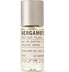 르 라보 베르가못 22 EDP 니치향수 핸드메이드 퍼퓸 15ml Le Labo Bergamote 22 Eau de Parfum, 15ml