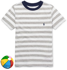 Polo Ralph Lauren Boys Ages 2 - 6 Striped Cotton-Jersey T-Shirt