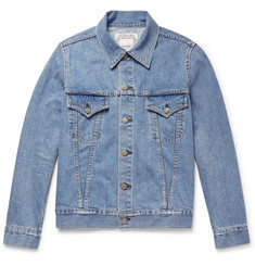 Remi Relief Distressed Denim Jacket