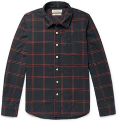 Remi Relief - Checked Cotton-Blend Shirt