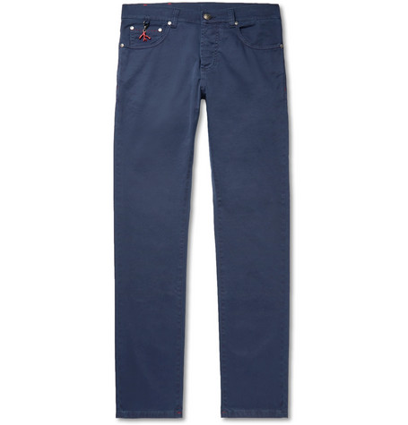 IsaiaSlim-Fit Stretch-Denim Jeans