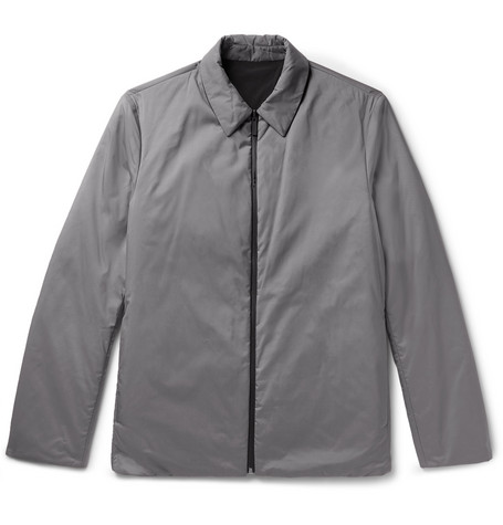 Odin Reversible Puppytooth Shell Shirt Jacket by Theory