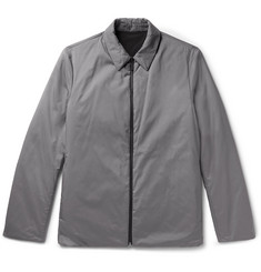 Theory Odin Reversible Puppytooth Shell Shirt Jacket