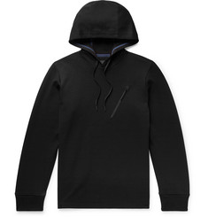 Theory Ergonomic Cotton-Blend Piqué Hoodie