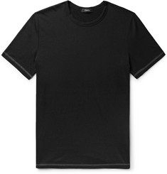 Theory Cotton and Cashmere-Blend T-Shirt