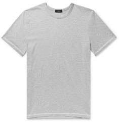 Theory Mélange Cotton and Cashmere-Blend T-Shirt