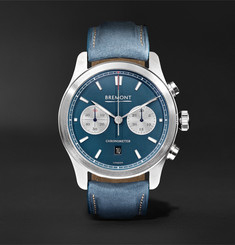 Bremont Zurich Chronograph 42mm DLC-Coated Stainless Steel and Kevlar Watch