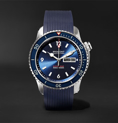 Bremont Supermarine S500 Automatic 43mm Stainless Steel and Rubber Watch, Ref. No. S500/BL