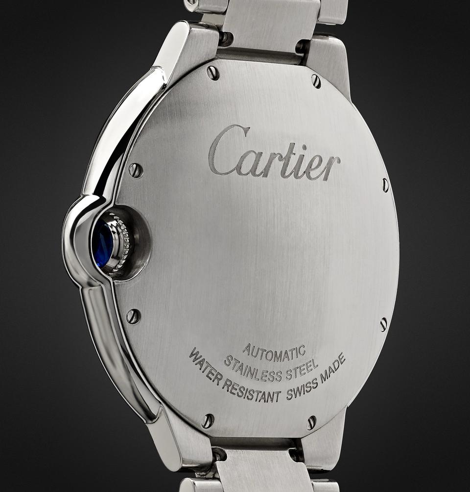 Cartier Ballon Bleu Automatic 42mm Steel Watch