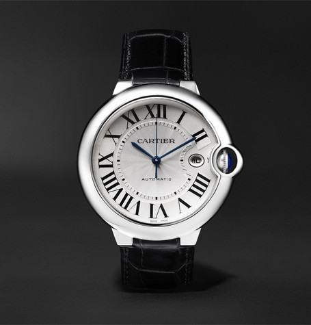 Ballon Bleu Automatic 42mm Stainless Steel And Alligator Watch