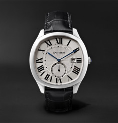 Cartier - Drive de Cartier Automatic 41mm Steel and Alligator Watch