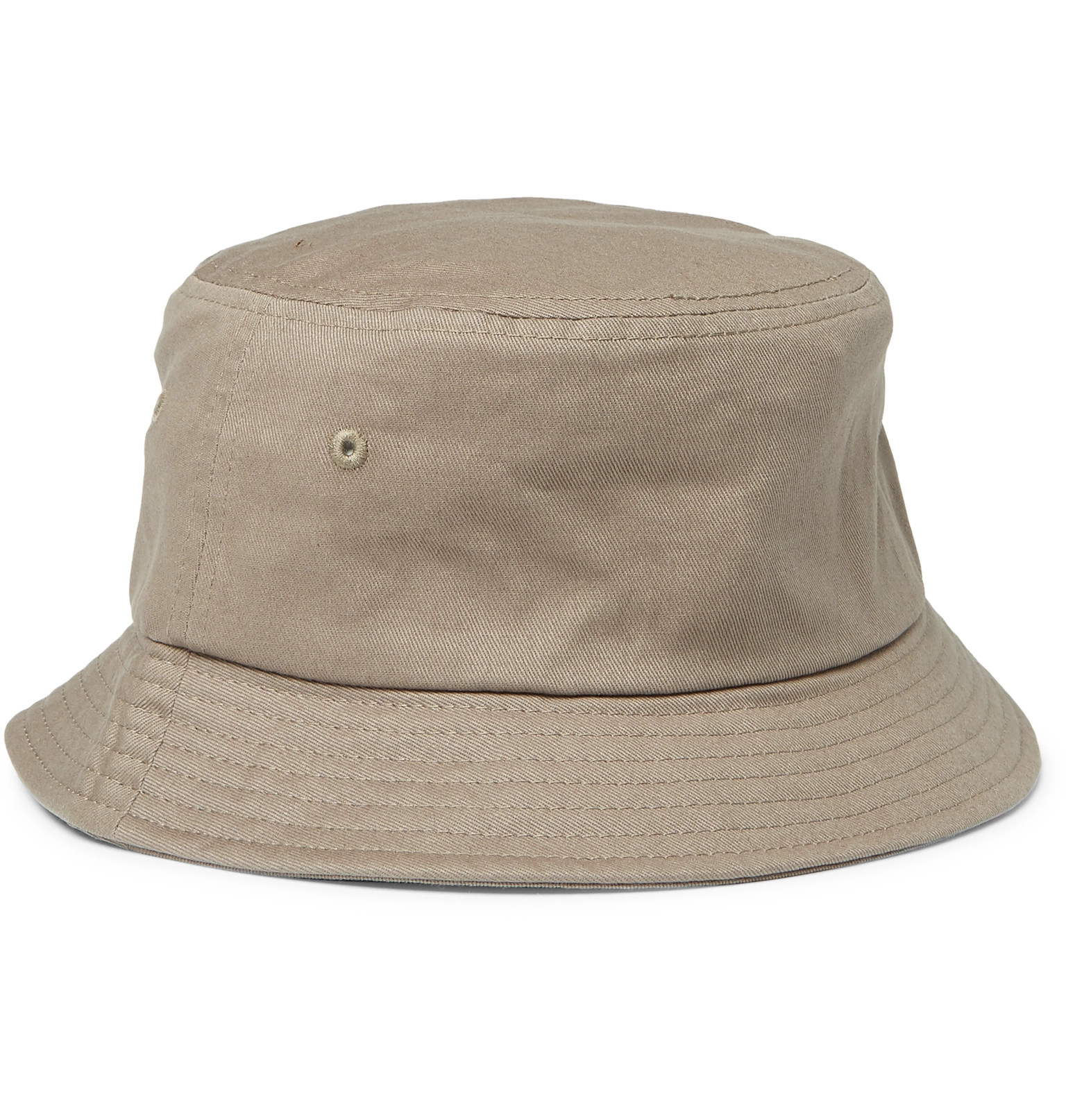 Stüssy - Logo-Embroidered Cotton-Canvas Bucket Hat 3e51c913a6d4