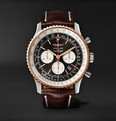 Breitling Navitimer 1 Chronograph 46mm Steel, Red Gold and Crocodile Watch, Ref. No. UB012721/BE18/757P/A20D.1