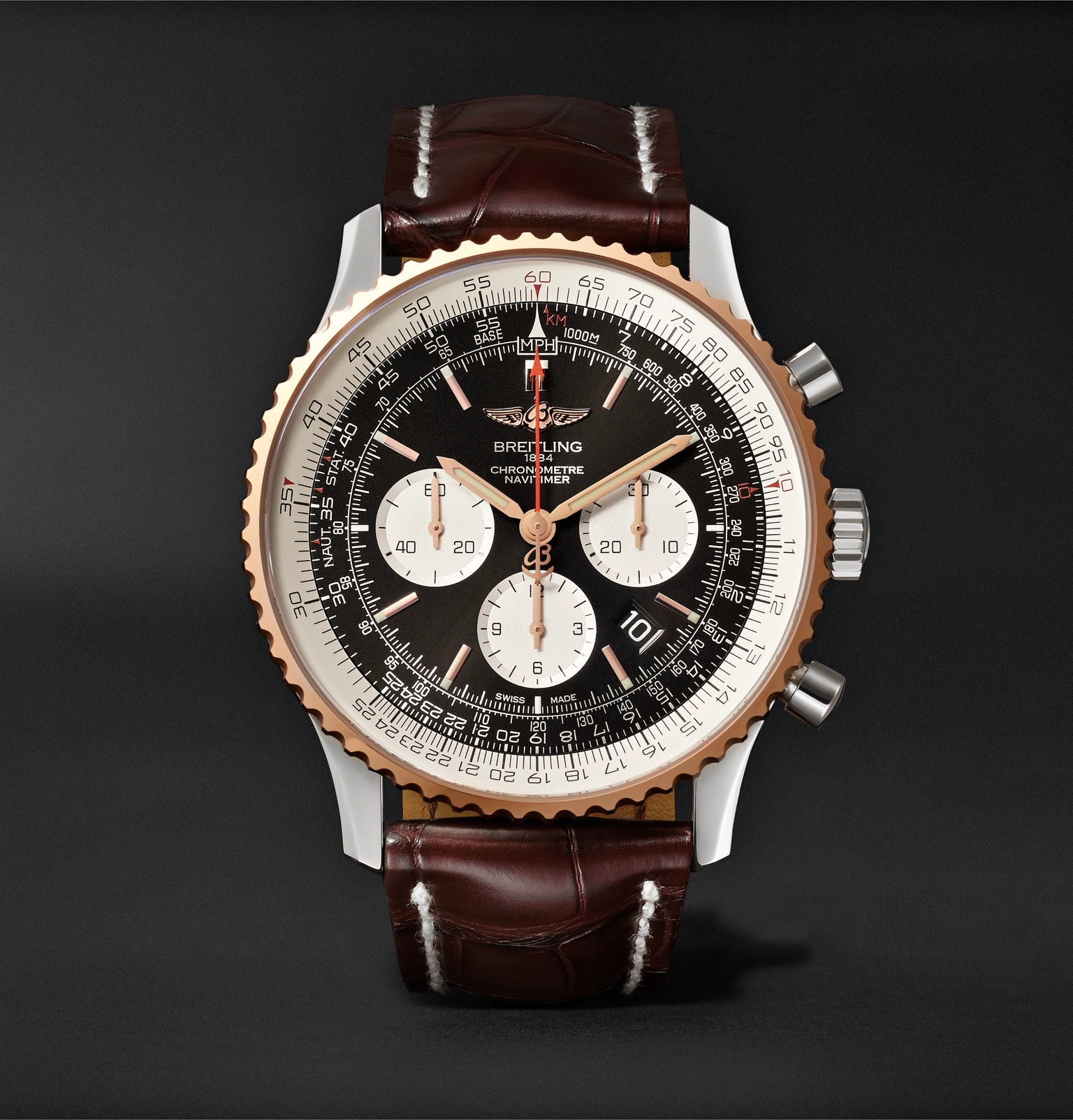 eb602a4c5cf8 Breitling - Navitimer 1 Chronograph 46mm Steel
