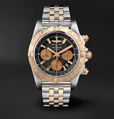 Breitling Chronomat B01 Chronograph 44mm Stainless Steel and Gold Watch