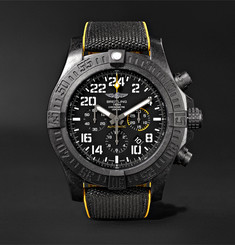 Breitling Avenger Hurricane Chronograph 50mm Breitlight and Canvas Watch