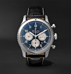 Breitling Navitimer 8 B01 Chronograph 43mm Stainless Steel and Alligator Watch