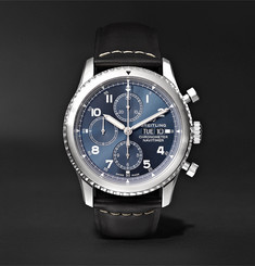 Breitling - Navitimer 8 Automatic Chronograph 43mm Steel and Leather Watch