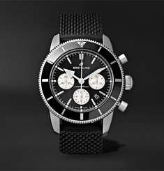 Breitling Superocean Héritage II B01 Chronometer 44mm Stainless Steel and Rubber Watch, Ref. No. AB0162121B1S1