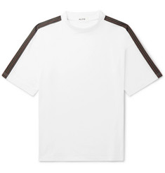 Aloye Oversized Panelled Cotton-Jersey T-Shirt
