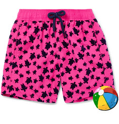 Vilebrequin Boys Ages 2 - 8 Jim Flocked Shell Swim Shorts