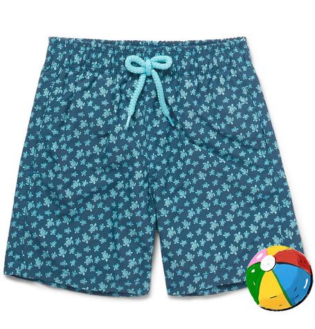 Vilebrequin Boys Ages 10 - 12 Jim Printed Shell Swim Shorts - Blue lTFuez