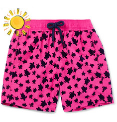 Vilebrequin - Boys Ages 10 - 12 Jim Flocked Swim Shorts