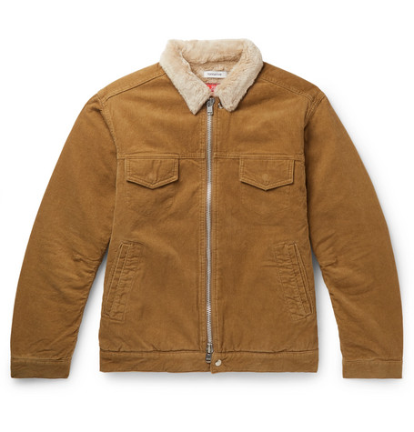 Nonnative Gore Windstopper Faux Fur Lined Cotton Corduroy Jacket