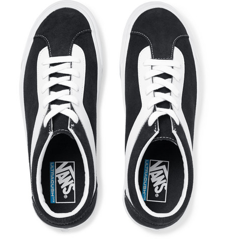Vans - Staple Bold Ni Suede and Leather Sneakers 68d41b362