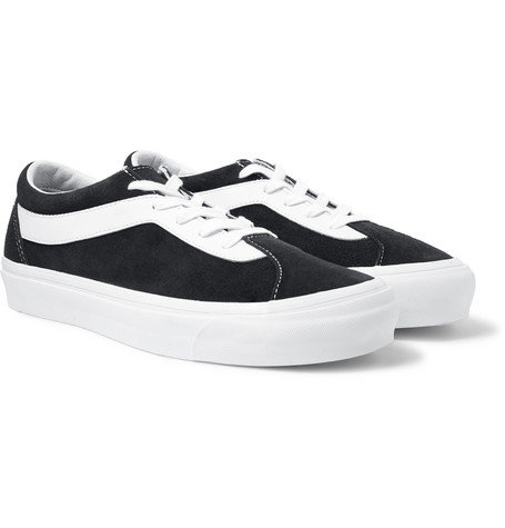 0115aca1ac91 Vans - Staple Bold Ni Suede and Leather Sneakers
