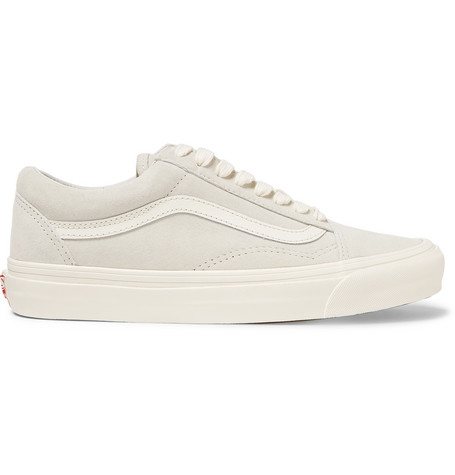 Vans OG Old Skool LX Leather-Trimmed Suede Sneakers